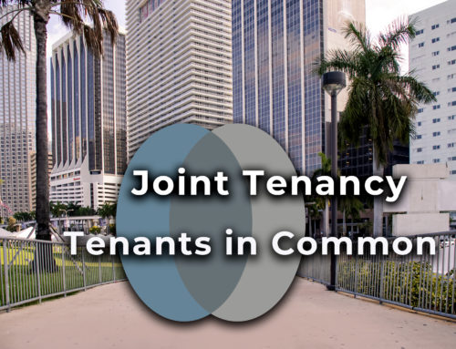 Real Estate Law Concepts: Joint Tenancy and Tenants in Common