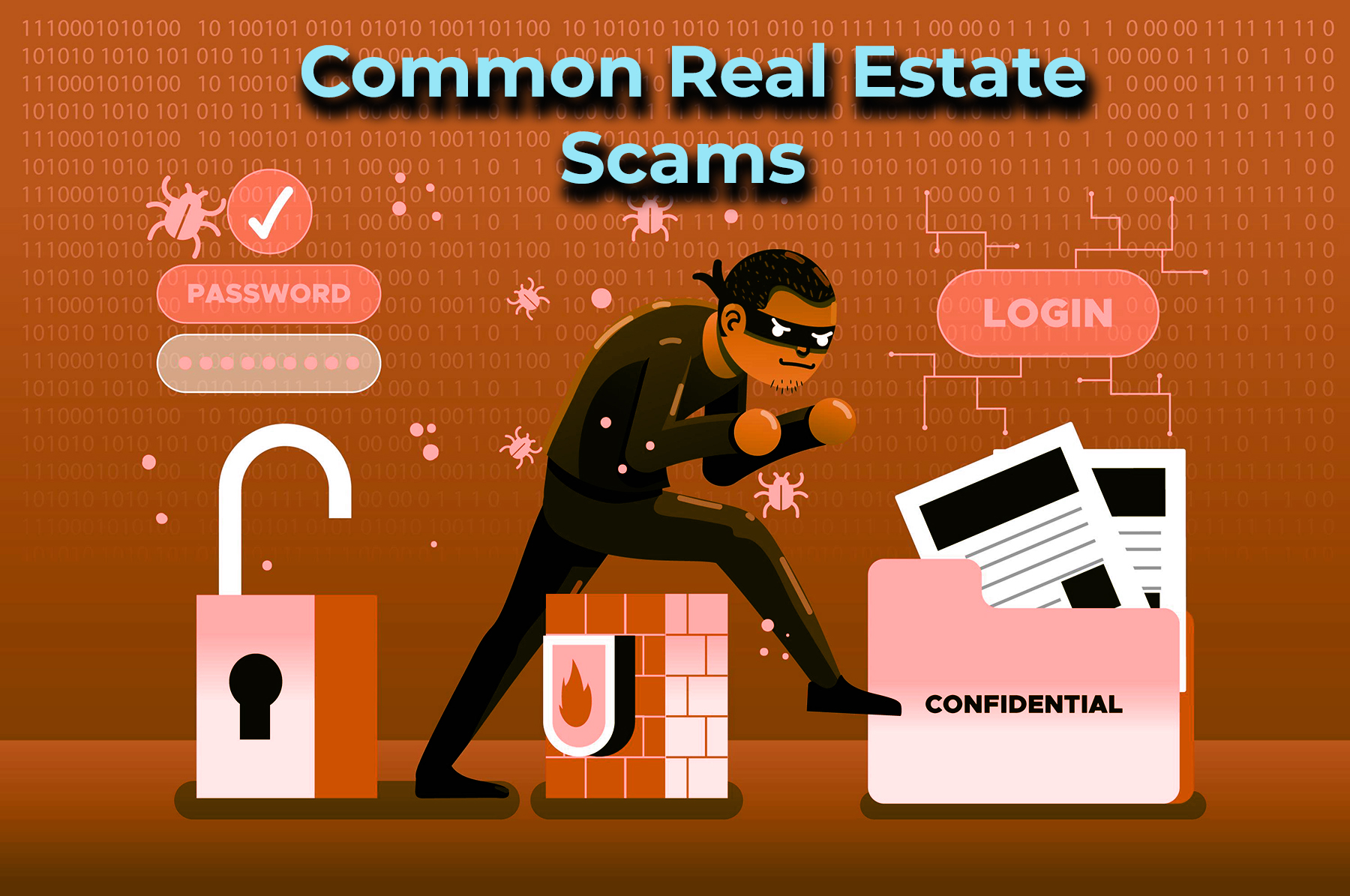 COMMON REAL ESTATE SCAMS