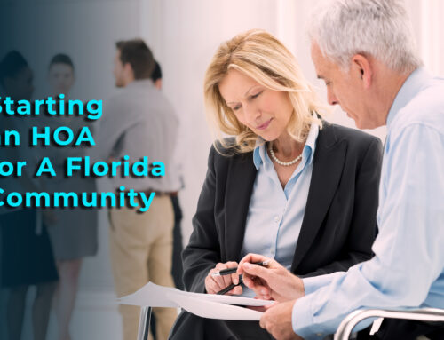 Starting an HOA for A Florida Community